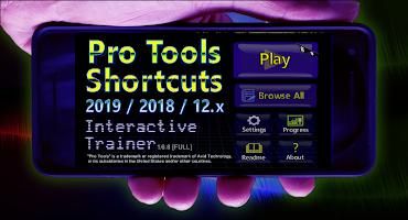 Pro Tools 2019 Shortcuts: Interactive Trainer