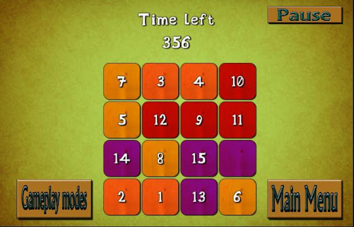 shuffle puzzle – number puzzle brain teaser screenshot 3