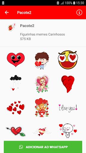 Affectionate meme stickers - WAStickerApps screenshots 2