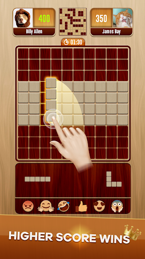 Woody Battle Block Puzzle Dual PvP 3.2.0 screenshots 2