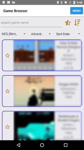 Retro Game Center (enjoy classic/emulation games) screenshots 2