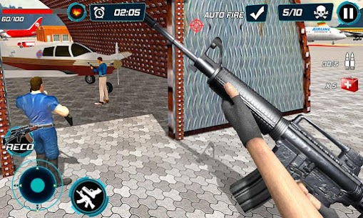 Combat Shooter 2: FPS Shooting Game Mod Apk (Dumb Enemy) 4