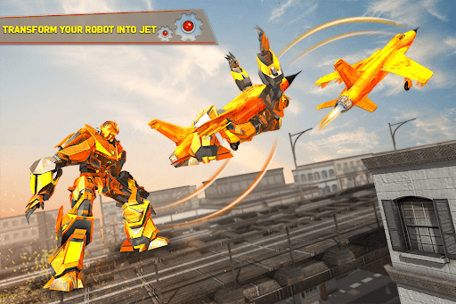 Tank Robot Car Games - Multi Robot Transformation screenshots 7