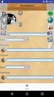 Genealogical trees of families screenshots 2