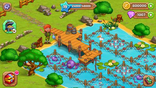 North Dragon Island - build Vikings Farm  screenshots 12