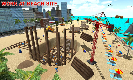 House Construction Beach Building Sim ss2
