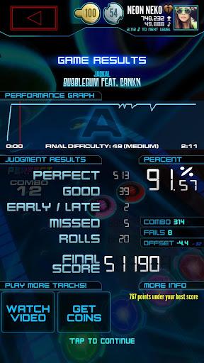 Neon FMu2122 u2014 Arcade Rhythm Game 1.8.0 screenshots 5