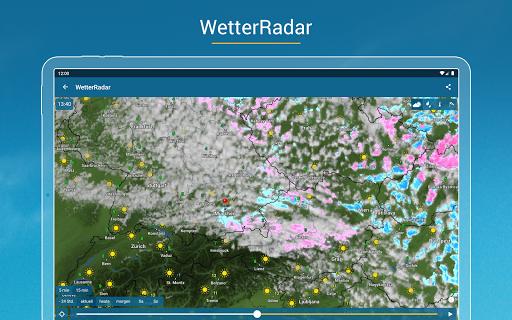 RegenRadar - mit Unwetterwarnung apktram screenshots 13