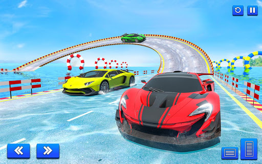 Water Surfing Car Stunt Games: Car Racing Games  screenshots 11