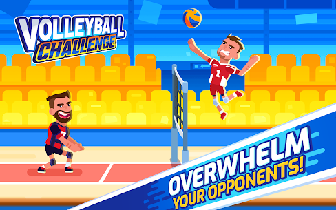 Volleyball Challenge – volleyball game Mod 1.0.24 Apk [Unlimited Coins] 1