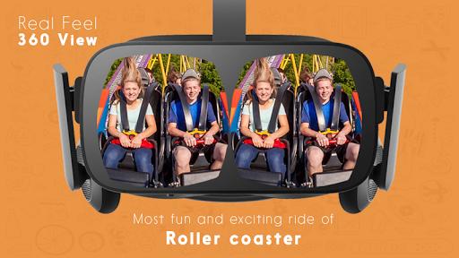 Télécharger Gratuit Roller Coaster 360 VR apk mod screenshots 2