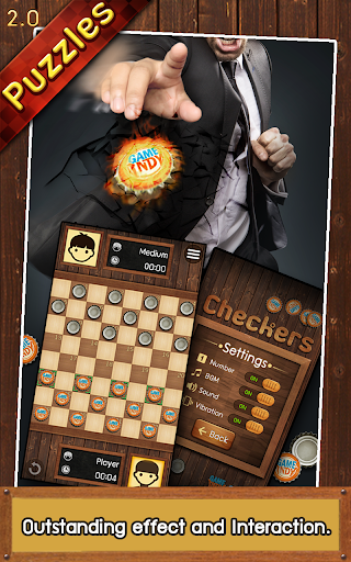 Thai Checkers - Genius Puzzle - u0e2bu0e21u0e32u0e01u0e2eu0e2du0e2a 3.5.179 screenshots 3