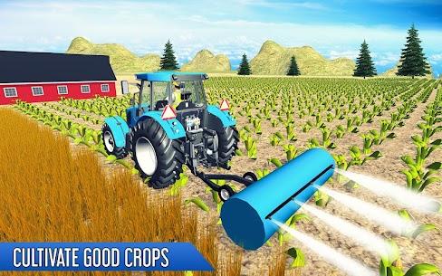 Tractor Thresher Games 3D  Farming Games Apk Download 4