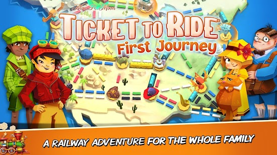 Ticket to Ride: First Journey  Screenshot