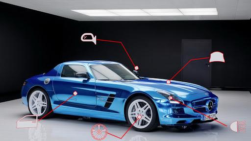 Benz SLS AMG: Extreme City Stunts Drive & Drifts Apkfinish screenshots 1