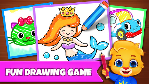 Drawing Games: Draw & Color For Kids  screenshots 1