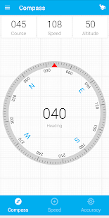 Compass, Speed and GPS Accuracy Screenshot