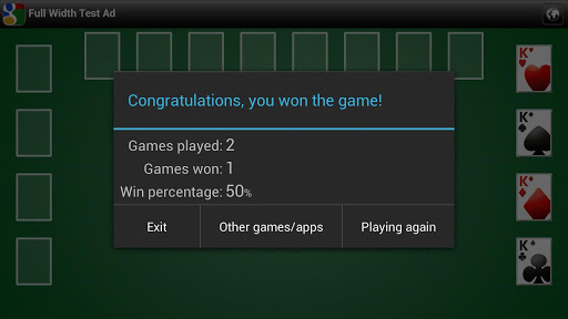 Freecell apkpoly screenshots 7