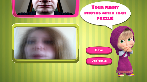 Masha and The Bear Puzzle Game 2.7 screenshots 7