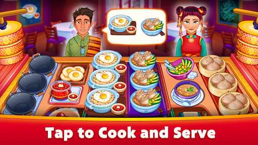 Asian Cooking Star: New Restaurant & Cooking Games modiapk screenshots 1