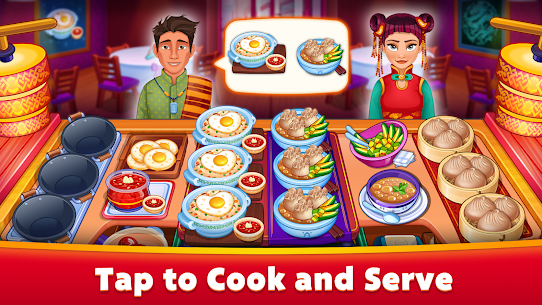Asian Cooking Star MOD (Unlimited Gems/Coins) 1
