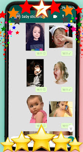 ud83dude0dAnimated baby stickers for WhatsAppud83dudc76ud83cudffb 1.0 screenshots 1