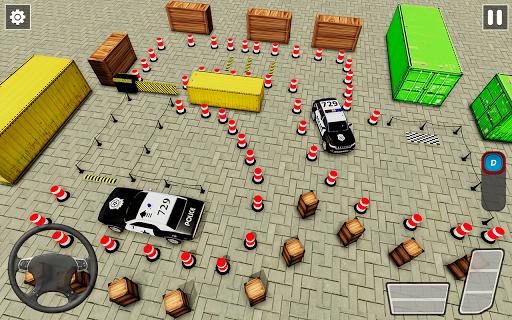 Crazy Traffic Police Car Parking Simulator 2020 screenshots 6
