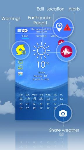Taiwan Weather 5.4.1 Screenshots 1