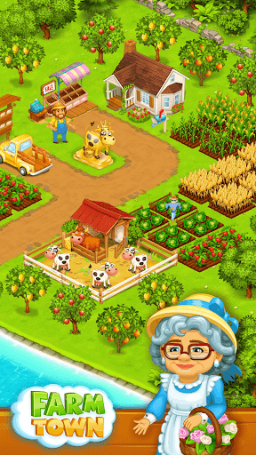 Farm Town: Happy farming Day & food farm game City 3.41 screenshots 17