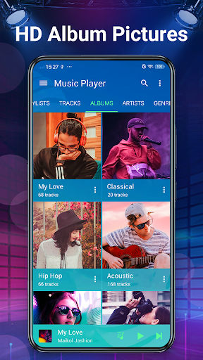 Music Player - Bass Booster & Free Music android2mod screenshots 5