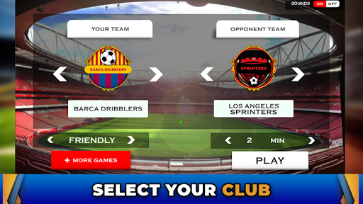 World Dream Football League 2020: Pro Soccer Games 1.4.1 screenshots 4