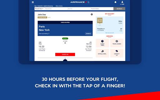 Air France - Airline tickets 5.1.0 Screenshots 7