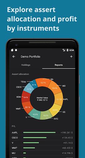 Investment portfolio, stocks, etf, forex, crypto  screenshots 1