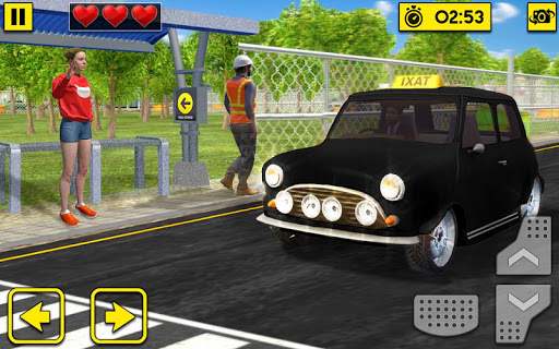 City Taxi Driving Sim 2020: Free Cab Driver Games android2mod screenshots 5