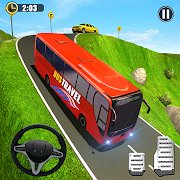 OffRoad Tourist Coach Bus Driving- Free Bus games