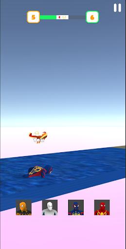 Super Hero Transform Race - Spider Racing Game 3D 0.6 screenshots 7