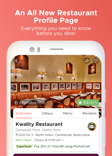 Dineout: Best Restaurant Offers, Deals & Events android2mod screenshots 3