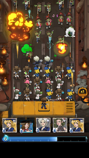 Zombie Z- Attack Zombie Battle  screenshots 1