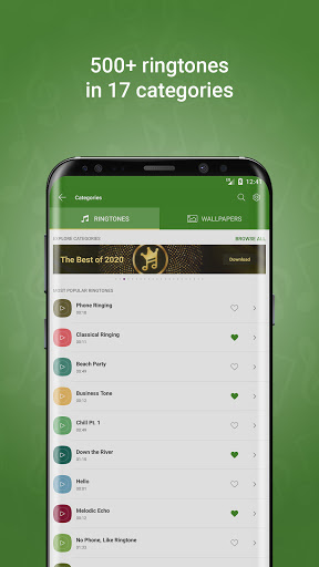 Free Ringtones for Android™  screenshots 1