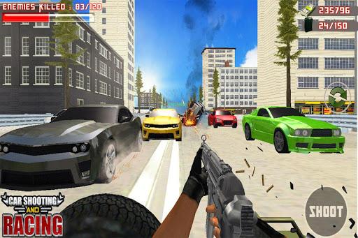 Car Racing Sniper Vs Thieves - Shooting Race games  screenshots 1