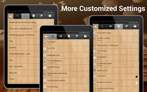 EBook Reader & Free ePub Books android2mod screenshots 11