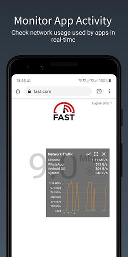 Network Speed - Internet Speed Meter - Indicator android2mod screenshots 3