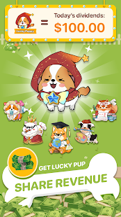 Puppy Town - Merge & Win Screenshot