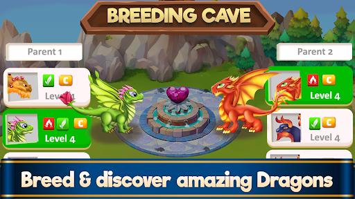 Dragon Paradise City: Breeding War Game  screenshots 4