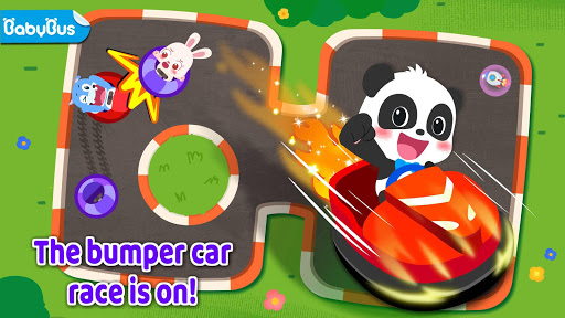 Little Panda: The Car Race  screenshots 1