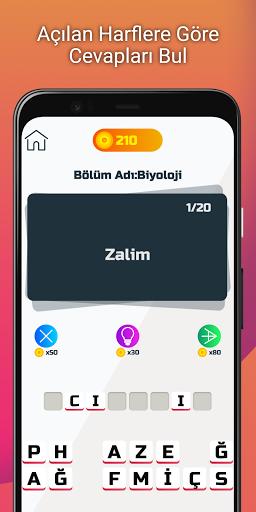Profesu00f6r: Tu00fcrku00e7e Kelime Oyunu 1.7 screenshots 3