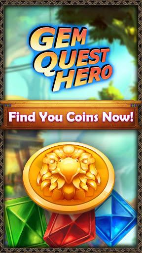 Gem Quest Hero - Jewels Game Quest apkmartins screenshots 1