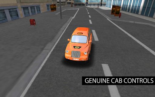 london taxi 3d parking screenshot 3