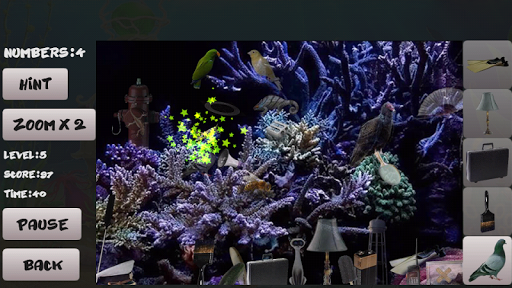 Sea bottom. Hidden Objects For PC Windows (7, 8, 10, 10X) & Mac Computer Image Number- 8