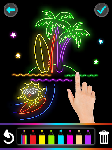 Glitter Number and letters coloring Book for kids 3.8 Screenshots 13
